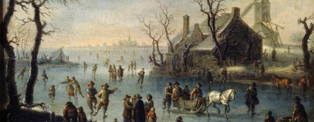 Ice-Skaters-17th-century-Artist-Klaes-Molenaer